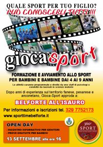 GIOCASPORT 2015-2016 belforte